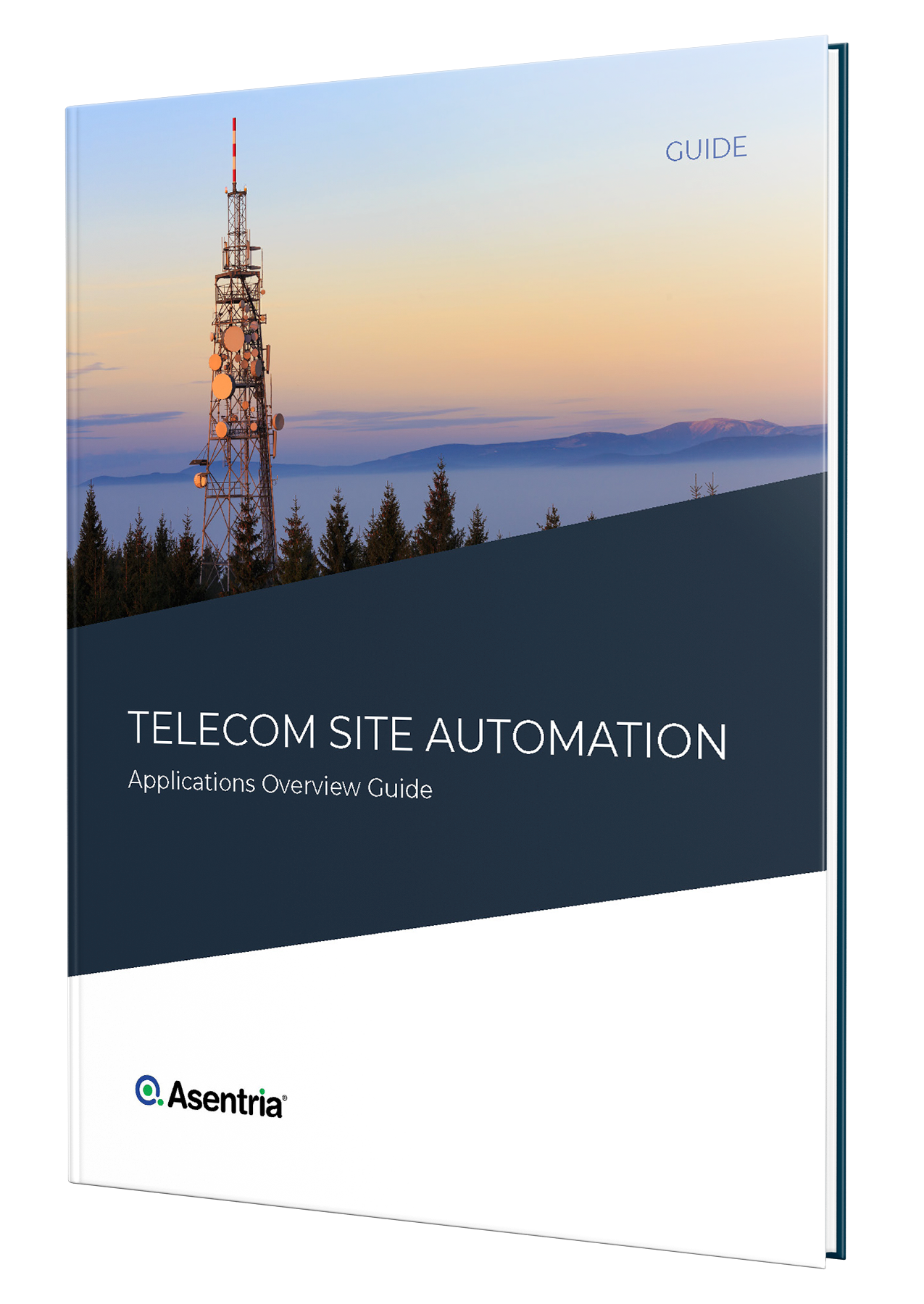 telecom site automation applications overview guide cover mockup