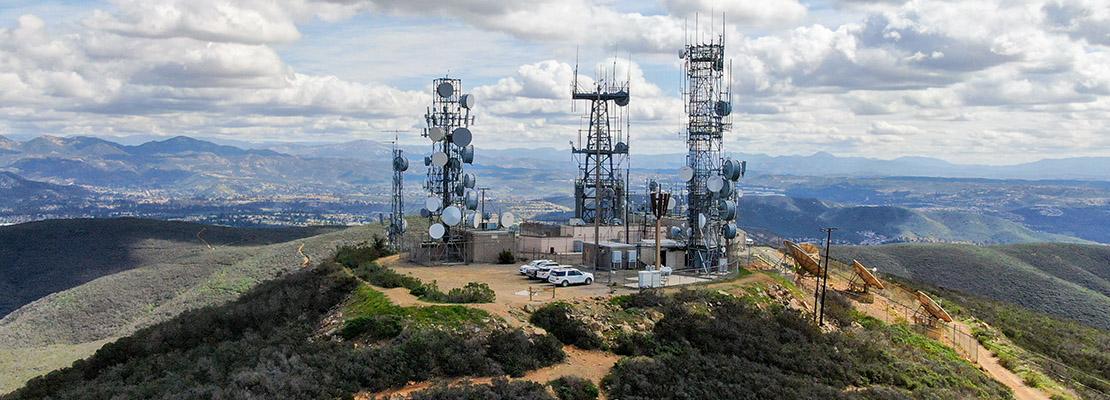 california telecom tower banner